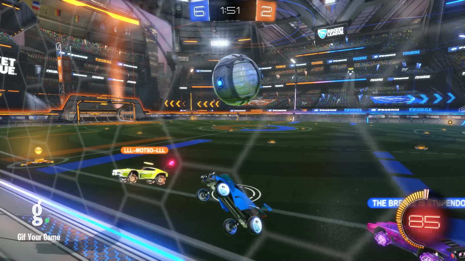 Dale, Gif Your Game, GifYourGame, Goal, Rocket League, RocketLeague, Goal 9: Dale GIFs