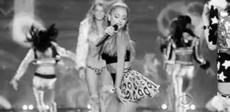 Watch and share Vs Fashion Show GIFs and Arianna Grande GIFs on Gfycat