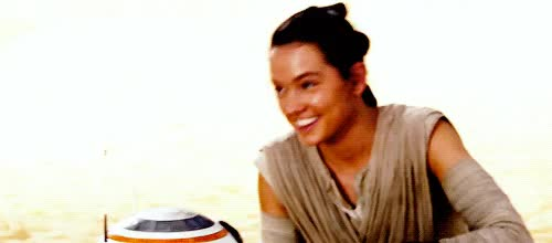 Watch and share Gif, Star Wars And Rey GIF On We Heart It GIFs on Gfycat