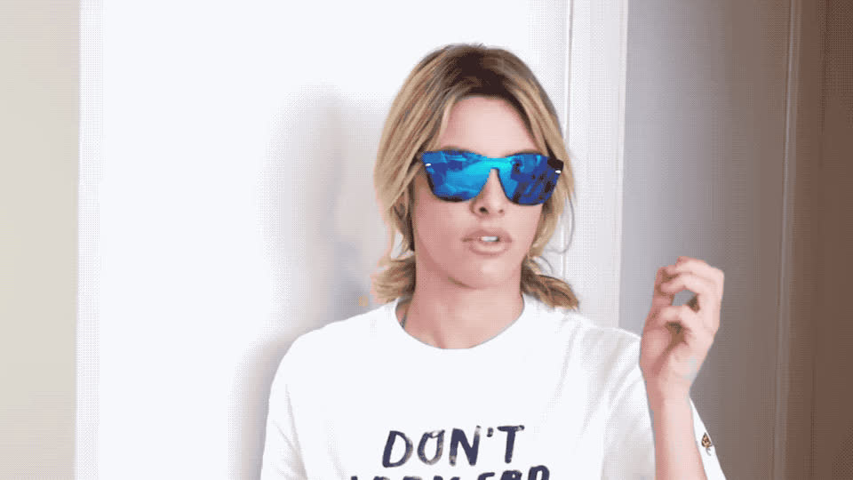believe, can't, deal with it, fantasy, fixed, glasses, god, lele, my, oh, omg, pons, wow, yourtuber, youtube, Fantasy glasses - Lele Pons GIFs