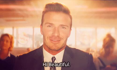 Watch and share David Beckham GIFs on Gfycat