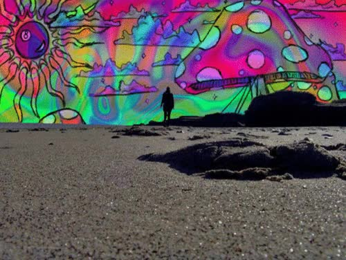 Watch and share Psychedelic Trip Psychedelia Gif GIFs on Gfycat