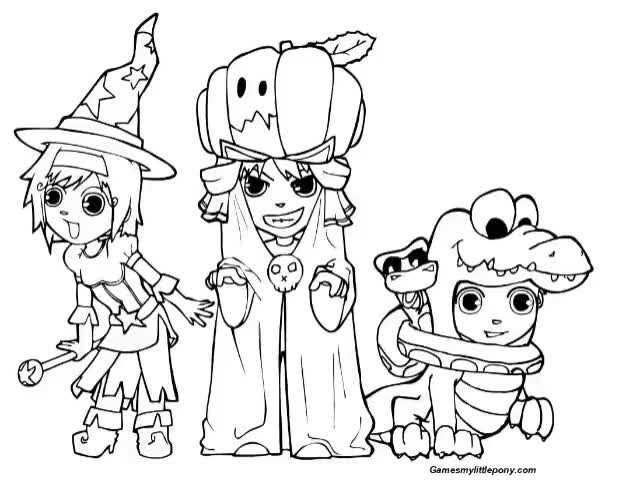 Watch and share MPL Halloween Holiday GIFs by My Little Pony Coloring  on Gfycat