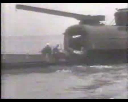 WarshipGfys, warshipgfys, HMS M1 firing her 305mm (12in) gun. (reddit) GIFs
