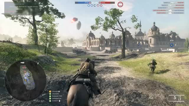 Watch and share Battlefield One GIFs by SNZR on Gfycat