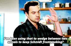 Watch and share Nick X Schmidt GIFs and Nick Miller GIFs on Gfycat