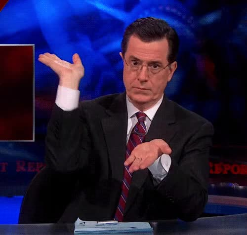 Watch and share Stephen Colbert GIFs and Slow Clap GIFs by Reactions on Gfycat