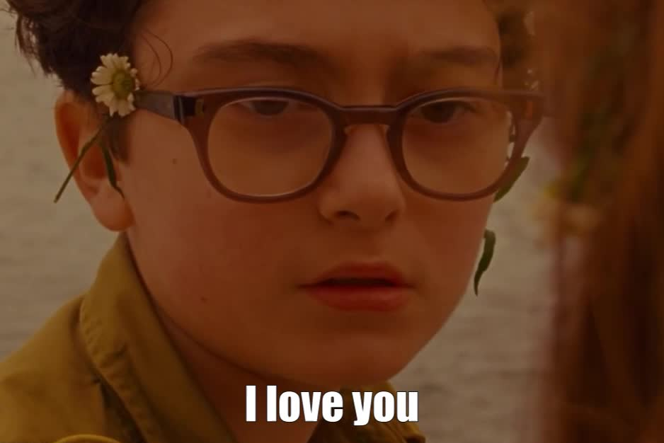 GIF Brewery, I love you, Moonrise kingdom, I love you GIFs