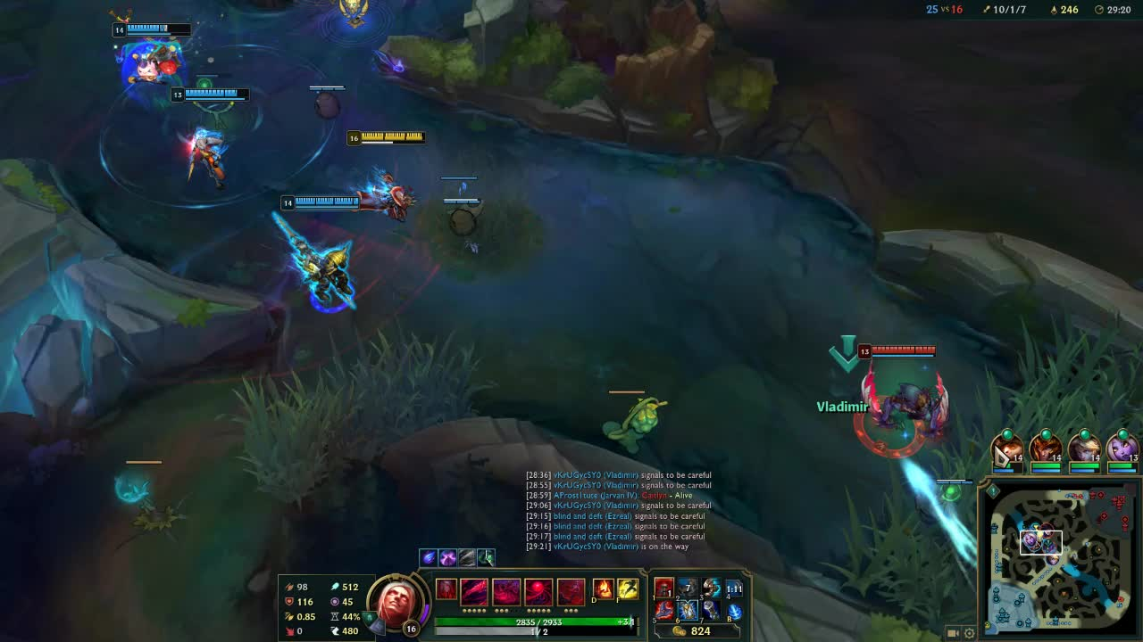 Assist, Double-kill, Gaming, League of Legends, Overwolf, Triple-kill, Vladimir, Win, SPICY GIFs