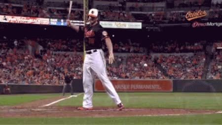 baseball, orioles, supersaiyangifs, [Gif] My attempt at making a Chris Davis Thor gif (reddit) GIFs