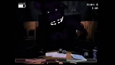 Watch and share FIVE NIGHTS AT FREDDY'S 2: HORRIBLE PURPLE / SHADOW FREDDY GAMEPLAY FOOTAGE! GIFs on Gfycat