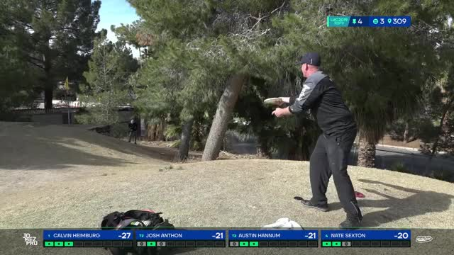 Watch 2019 LVC | Round 3| Josh Anthon hole 4 putt GIF by Benn Wineka UWDG (@bennwineka) on Gfycat. Discover more dgpt, disc golf, disc golf 2019, disc golf coverage, disc golf tournament, jomez coverage, jomez disc golf, jomez productions, jomezpro, pdga GIFs on Gfycat