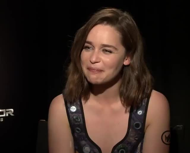 Watch Emilia Clarke GIF on Gfycat. Discover more related GIFs on Gfycat
