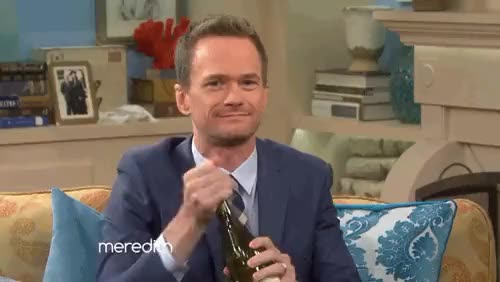 Watch and share Neil Patrick Harris GIFs and Meredith Vieira GIFs on Gfycat