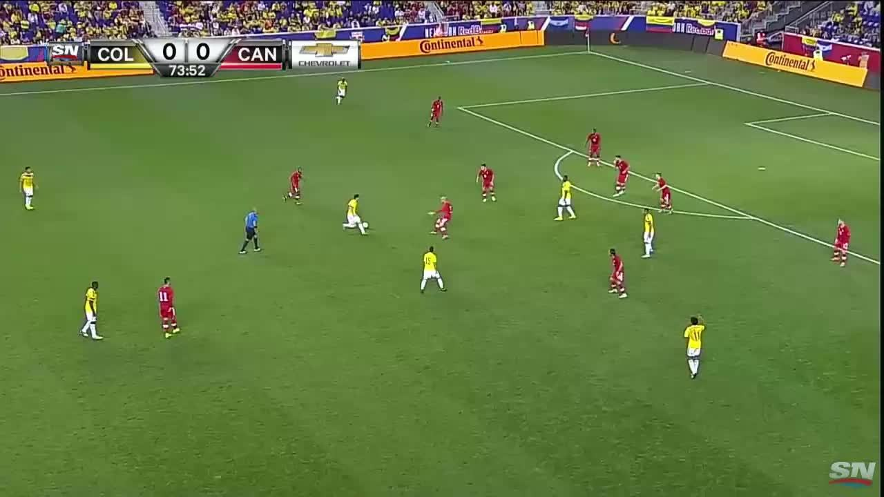 realmadrid, soccer, James Rodriguez goal against Canada (reddit) GIFs
