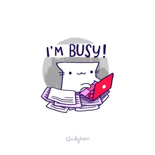 Watch I'm Busy GIF on Gfycat. Discover more Busy GIFs on Gfycat