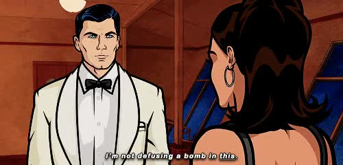 Watch and share Sterling Archer GIFs and She Is A Saint GIFs on Gfycat