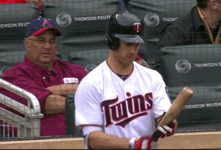 baseball, breathinginformation, Man gets distracted by flashing score (reddit) GIFs