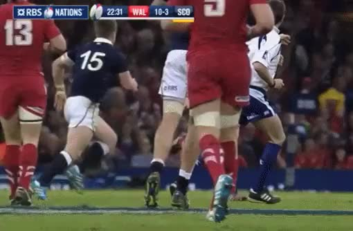 Watch [GIF] Stuart Hogg | Red Card Incident (reddit) GIF by @dumadent on Gfycat. Discover more highlightgifs GIFs on Gfycat