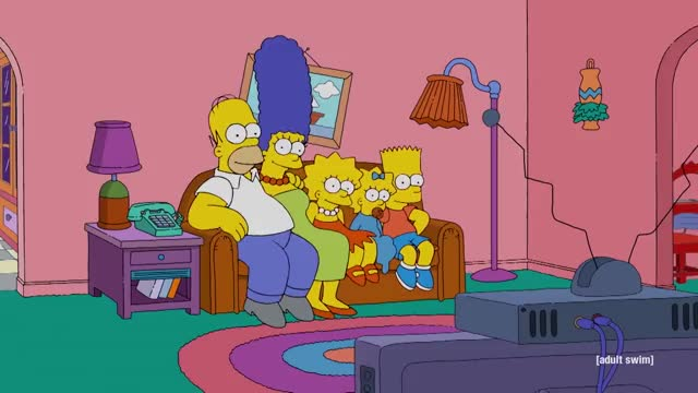 Watch and share Simpsons Couch Gag | Rick And Morty | Adult Swim GIFs by Reactions on Gfycat