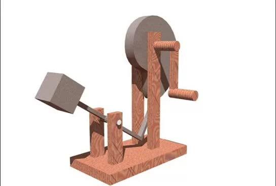 Watch and share Leonardo Da Vinci Inventions - The Cam Hammer GIFs on Gfycat