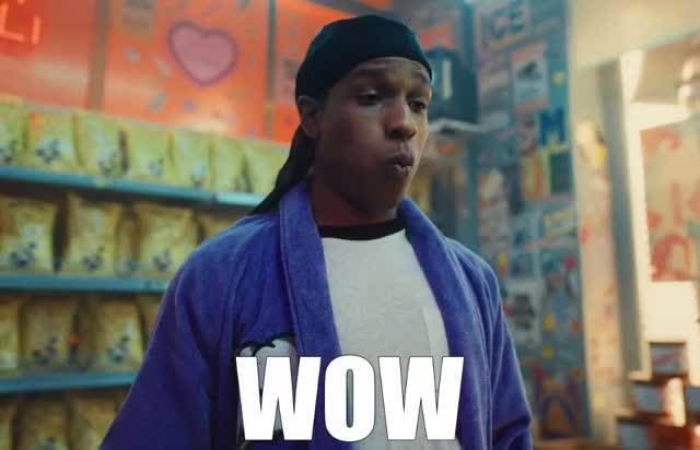 Watch and share ASAP Rocky - WOW GIFs by GIF Generator on Gfycat