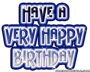 Watch and share Happy-Birthday-84.gif animated stickers on Gfycat