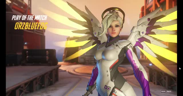 Watch and share Mercy POTM GIFs by mikewh on Gfycat