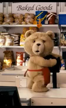 Watch ted humps checkout counter GIF on Gfycat. Discover more ted movie humping checkout GIFs on Gfycat
