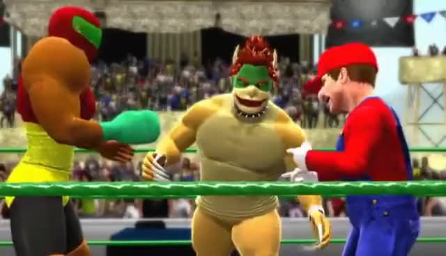 Watch and share WWE Super Smash Bros. For 3DS/Wii U 『CAW』 GIFs on Gfycat