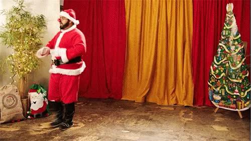 Watch and share Robot Santa GIFs on Gfycat