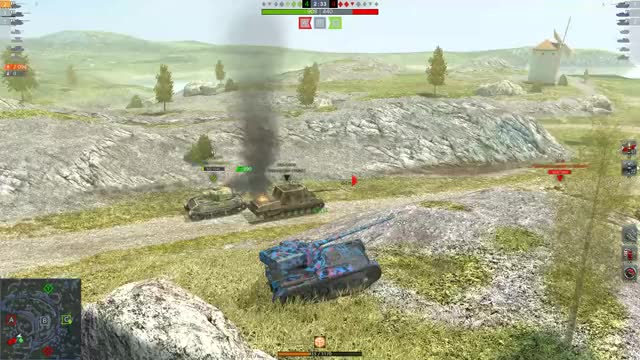Watch and share World Of Tanks Blitz 2019.05.03 - 23.47.35.07.DVR GIFs by fodnjs0811 on Gfycat