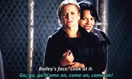 Watch and share Arizona Robbins GIFs and Miranda Bailey GIFs on Gfycat