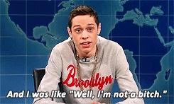 SNL, pete davidson, saturday night live, snl, snl gif, weekend update, Hidden Narnia! GIFs