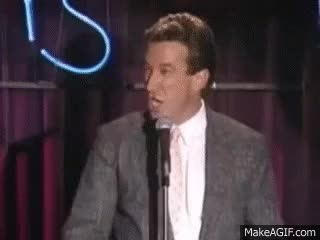 Watch and share Tim Allen Grunt Collection GIFs on Gfycat