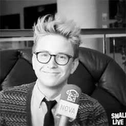 Watch and share Tyler Oakley GIFs and Noticed GIFs on Gfycat