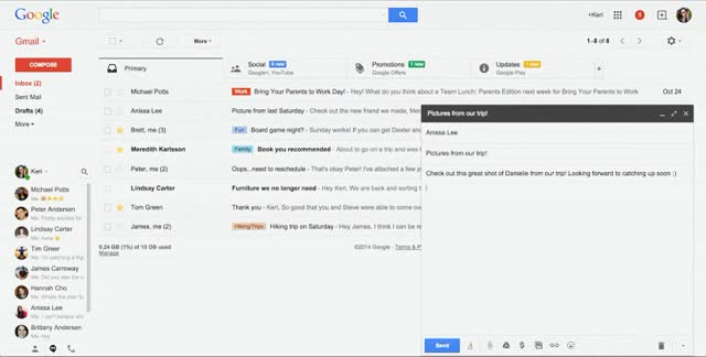 Watch and share Attach Drive Files At True Attachments In Gmail GIFs on Gfycat