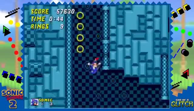 Watch and share Sonic The Hedgehog 2 Glitches - Son Of A Glitch - Episode 33 GIFs on Gfycat