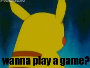 Watch and share VIDEO GAME  GIF | Pokemon-gif-play-game.gif GIFs on Gfycat