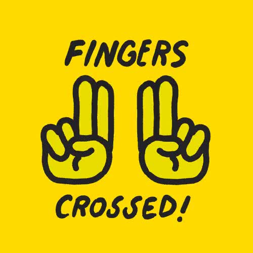Watch Fingers crossed GIF on Gfycat. Discover more cross, crossed, finger, fingers, hope, hopefully, ioanna, lucky, please, so, yellow GIFs on Gfycat