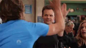 Watch and share Joel Mchale GIFs by Reactions on Gfycat