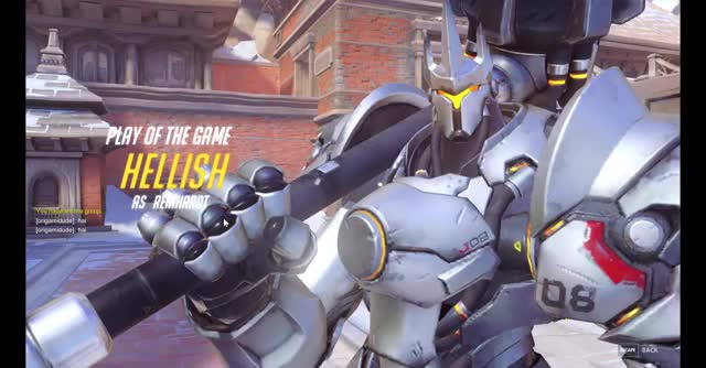 Watch and share Reinhardt GIFs by hellishdream on Gfycat