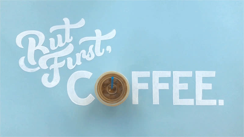 breakfast, but, cafe, coffee, drink, first, good, good morning, morning, up, wake, But first coffee GIFs