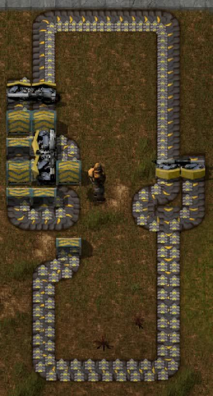 factorio, I see one glaring problem with this: not enough underground belt abuse. (reddit) GIFs