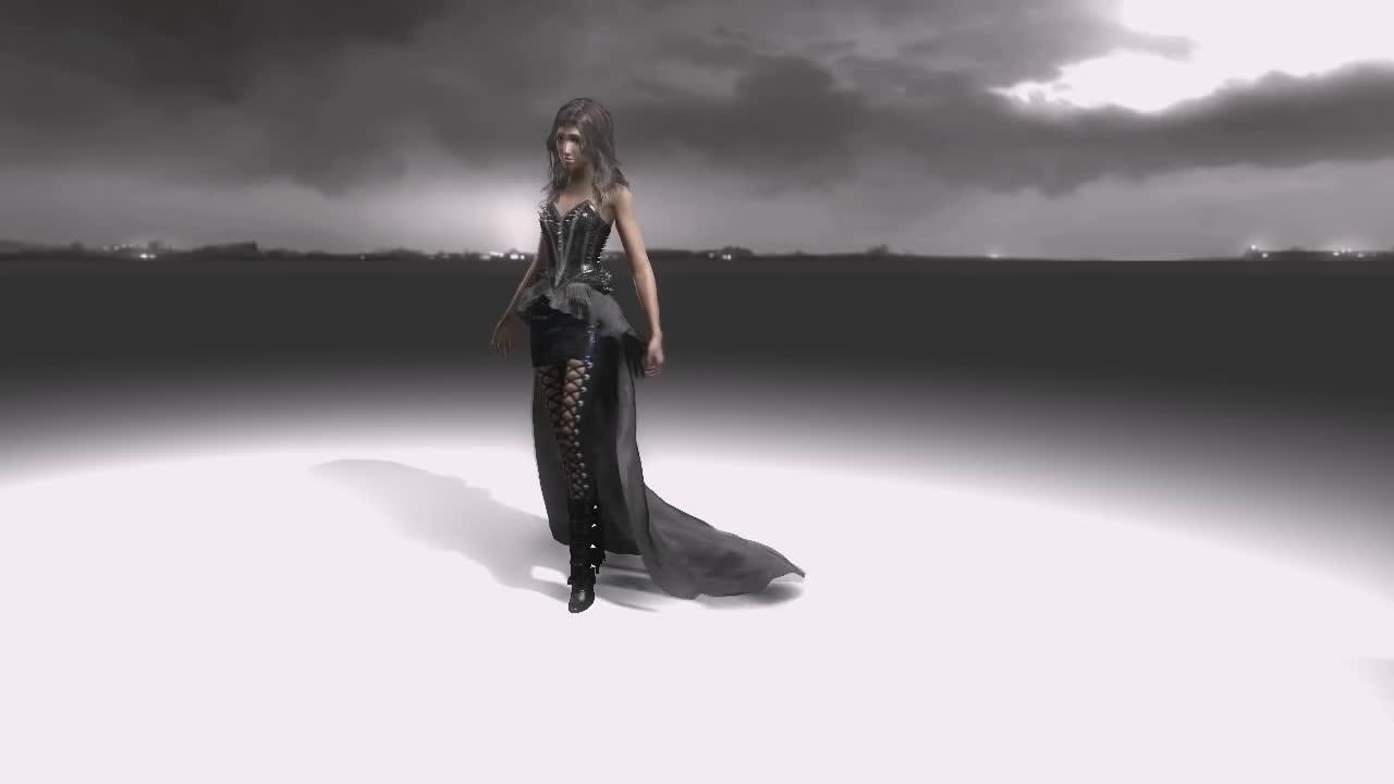 apex, ccp, nvidia, Physically simulated clothing GIFs