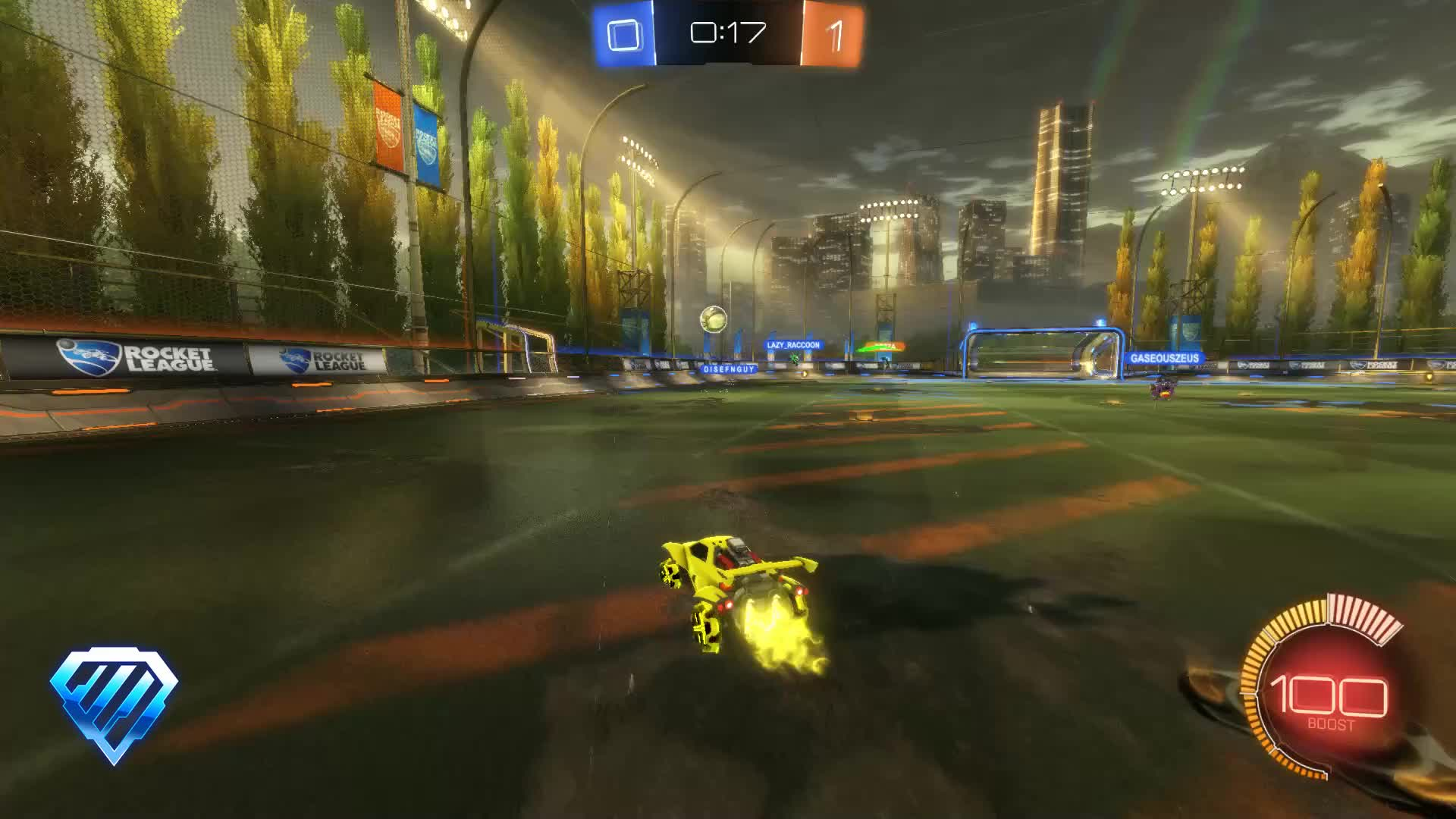 Assist, Gif Your Game, GifYourGame, Rocket League, RocketLeague, xGREEN, Assist 2: xGREEN GIFs