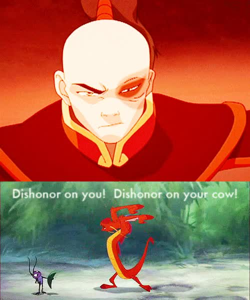 Watch and share Avatar Dishonor Disney Suko Zuko Favim Com GIFs on Gfycat
