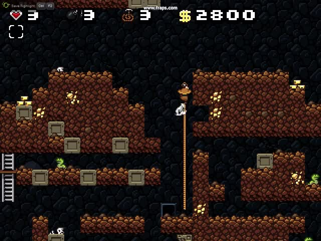 Watch and share Spelunky Classic: Companion Mod GIFs on Gfycat