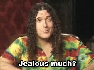 Watch and share Weird Al Yankovic GIFs and Jealous GIFs on Gfycat
