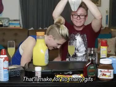Watch (beware: spoilers) GIF on Gfycat. Discover more Tyler Oakley, auguest, hanler, hannah hart, mine, teaminternet, youtube, youtubers GIFs on Gfycat